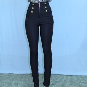 Denim - High waist